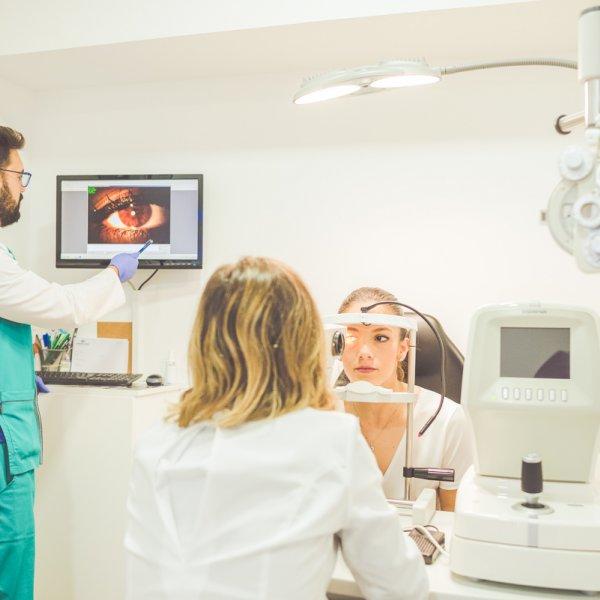 Evaluación optométrica